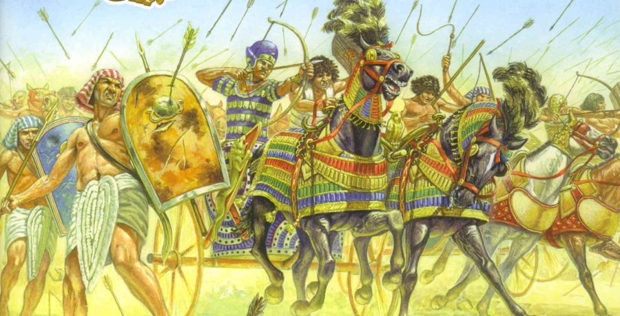 ancient egyptian military